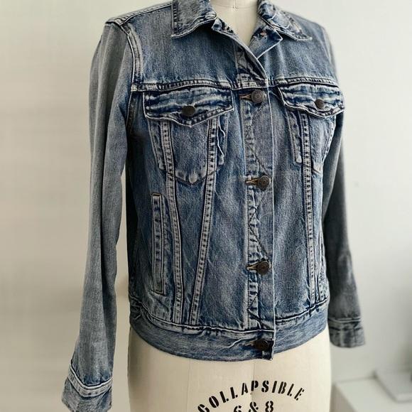 • SOLD • J.Crew Indigo Denim Jacket, Size M